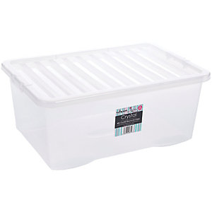 Wham Crystal Storage Box with Lid - 45L