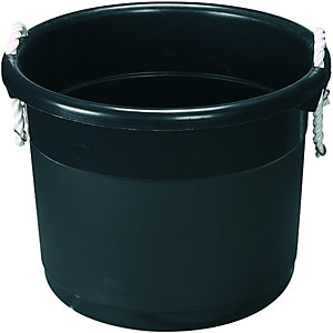Wickes Black Storage Bucket - 69L