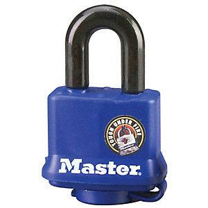 Master Lock 312KA Weather Tough Laminated Padlock - Steel Blue 40mm
