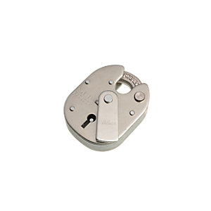 Wickes High Security Padlock 5 Lever - Steel 63mm