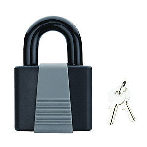 Wickes Weather Resistant Padlock - Steel 40mm