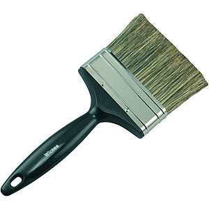 Wickes Creosote & Preservative Brush - 4in