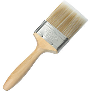Wickes Mastercoat Synthetic Paint Brush - 3in