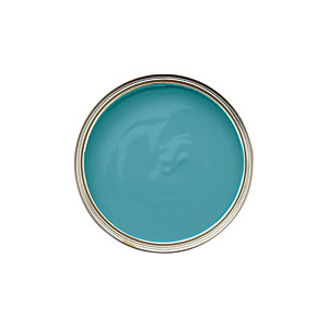 Wickes Colour @ Home Paint Tester Pot - Teal 75ml
