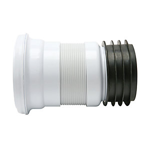 Fluidmaster Flexible Short Pan Connector - 200-350mm