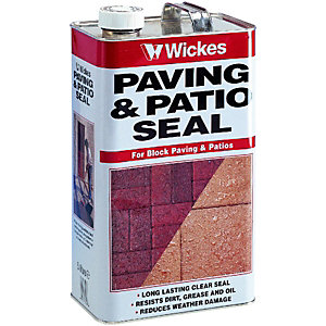 Wickes Paving & Patio Seal - Clear 5L