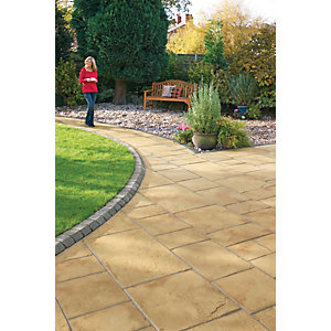 Marshalls Coach House Riven Cotswold Mixed Size Paving Patio Pack B - 9.7 m2