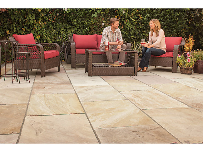 Selected Indian Sandstone Paving Packs