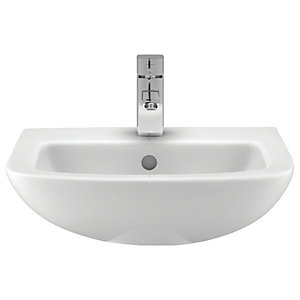 Wickes Lama Ceramic Basin Only - 500mm