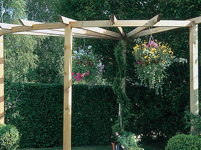 Pergola, Joists & Bearers