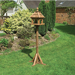 Rowlinson Premium Timber Lechlade Bird Table - 2 x 2 ft
