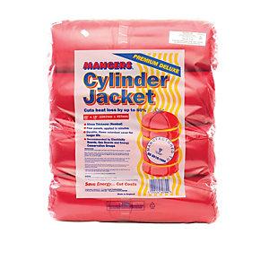Wickes British Standard Hot Water Cylinder Jacket - 457 x 1066mm PK4