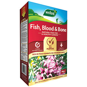 Fish Blood & Bone Plant Food - 4kg