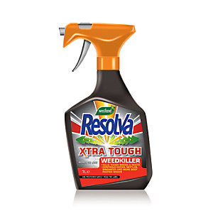 Resolva Xtra Tough Ready to Use Weed Killer Spray - 1L