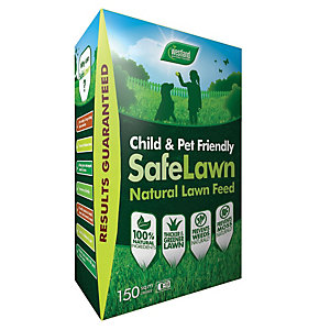 Westland Safe Lawn Green Organic Fertiliser Box 150m2 - 5.25kg