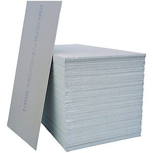 Knauf Plasterboard Tapered Edge - 12.5mm x 1.2m x 2.4m