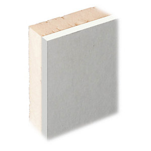 Knauf XPS Laminate Plus Insulated Plasterboard Tapered Edge - 27mm X 1.2m X 2.4m