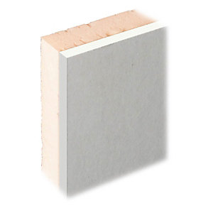Knauf XPS Laminate Plus Insulated Plasterboard Tapered Edge - 55mm X 1.2m X 2.4m