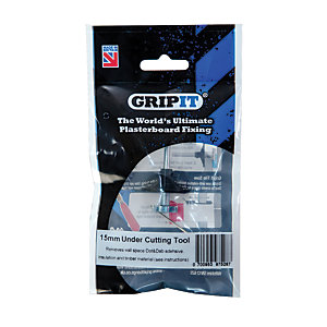 Gripit Type 13-2 Dot and Dab Undercutting Tool Kit - 15mm