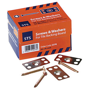 STS 30mm Screws and Stainless Steel Washers – Pack of 50