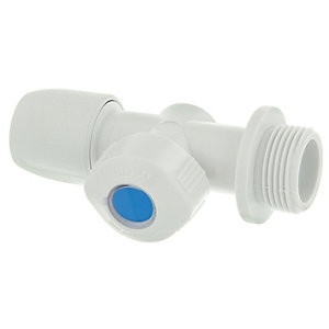 Hep2O HX38/15WS  Hot and Cold Appliance Valve - 3/4in x 15mm