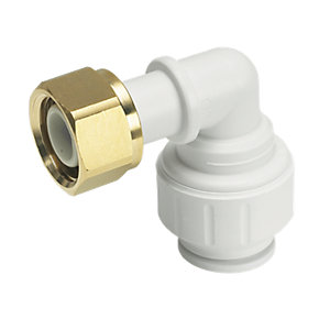 John Guest Speedfit PEMBTC1514P Bent Tap Connector - 12 x 15mm