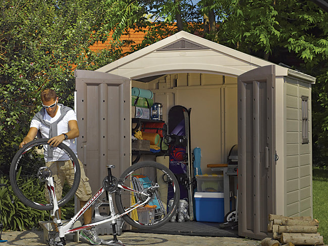 Keter 8x6ft Plastic Shed