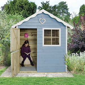 Childrens Wooden Playhouses Wickescouk