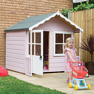 Shire Kitty Timber Playhouse with Acrylic Safety Glazing - 5 x 4 ft