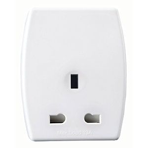Masterplug Travel Adaptor UK to EU Plug with 2 x USB Charger