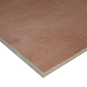 Wickes Marine Plywood - 18mm x 1220mm x 2440mm