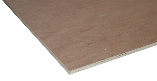 Non Structural Hardwood Plywood - 12mm X 1220mm X 2440mm