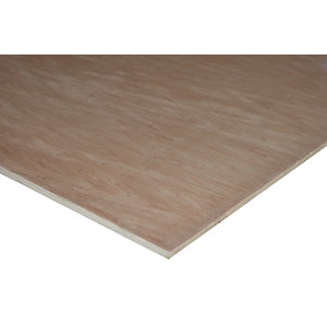 Wickes Non Structural Hardwood Plywood - 18mm x 606mm x 1829mm