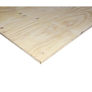 Wickes Structural Softwood Plywood CE2+ - 12mm x 1220mm x 2440mm