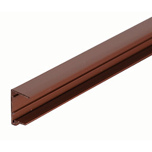 25mm PVC Sheet Closure - Brown 3.5m