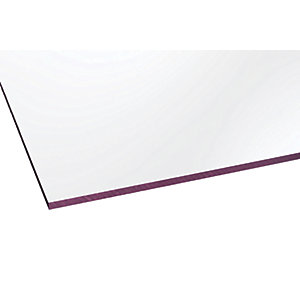 Marlon Fsx 3mm Solid Polycarbonate Clear Sheet 500 x 500mm