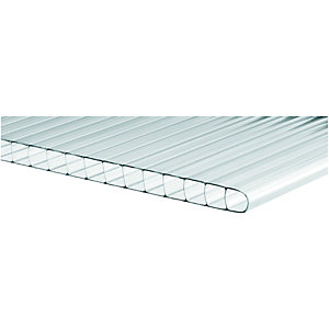 Wickes 10mm Twinwall Polycarbonate Sheet - 900 x 3000mm