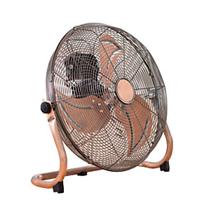 Fine Elements 16 Inch Copper Floor Fan