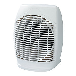 Wickes White Fan Heater - 2kW