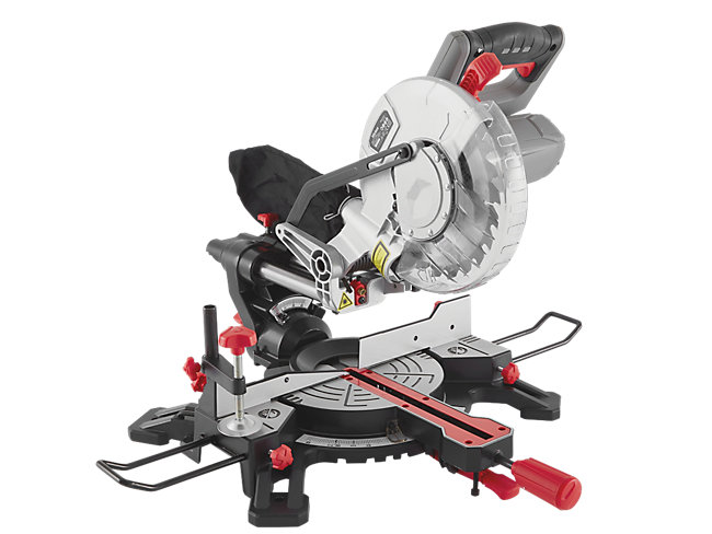 210mm Sliding Compound Mitre Saw With Laser Guide