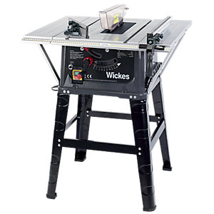 Wickes 254mm Table Saw 230V - 1500W