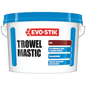 Vallance Trowel Mastic - Red 5kg