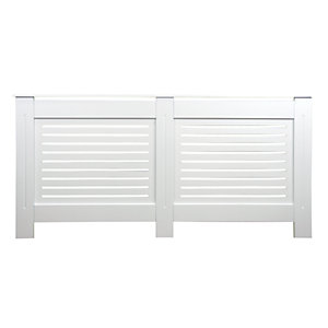 Wickes Bellona Large Radiator Cover White - 1720 mm