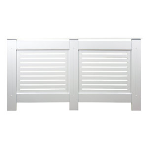 Wickes Bellona Medium Radiator Cover White - 1520 mm