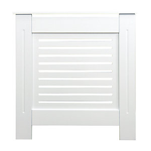Wickes Bellona Mini Radiator Cover White - 780 mm