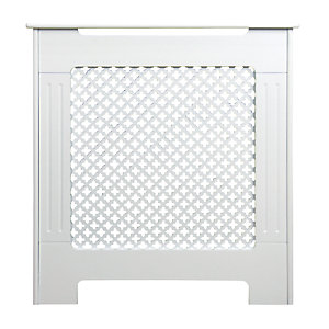 Wickes Derwent Mini Radiator Cover White - 780 mm