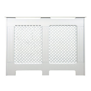 Wickes Derwent Small Radiator Cover White - 1110 mm