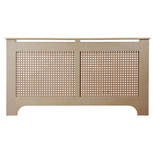 Wickes Halsted Large Radiator Cover Unfinished - 1500 mm