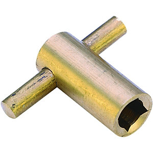 Wickes Brass Radiator Key