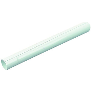 Wickes White Radiator Pipe Snaps - 1m Pack of 3